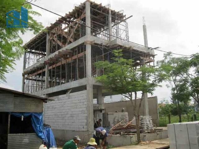 biện pháp thi công xay dựng nhà ở dân dụng